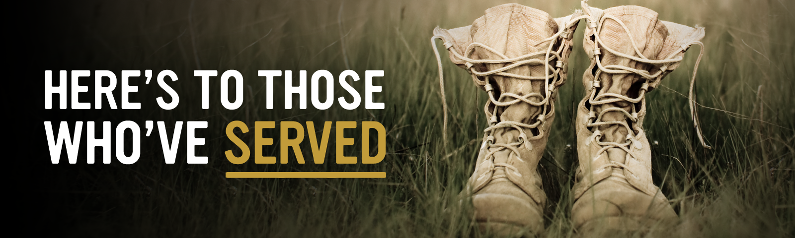 Boots Campaign Memorial Day