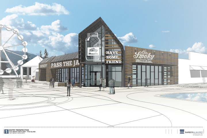 "OLE SMOKY MOONSHINE TO OPEN SECOND DISTILLERY & STORE/TASTING BAR, THE ""OLE SMOKY BARN"" AT THE ISLAND IN PIGEON FORGE, TENNESSEE"