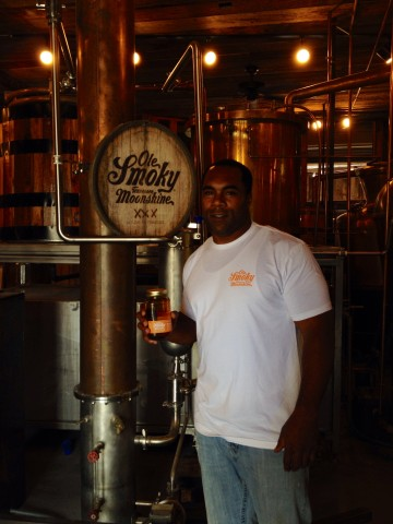 Jamal Lewis loves the Ole Smoky Tennessee Orange!