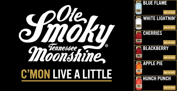 OLE SMOKY TENNESSEE MOONSHINE IS NOW AVAILABLE ONLINE