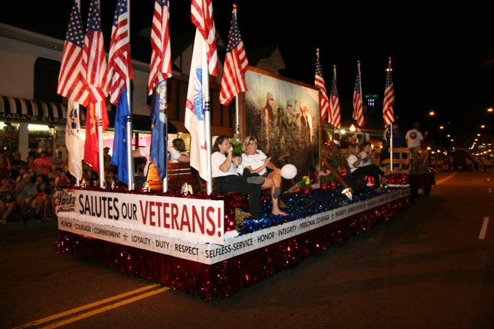 41st Annual Gatlinburg Fourth of July Midnight Parade