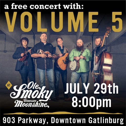 Volume 5 LIVE at the Holler