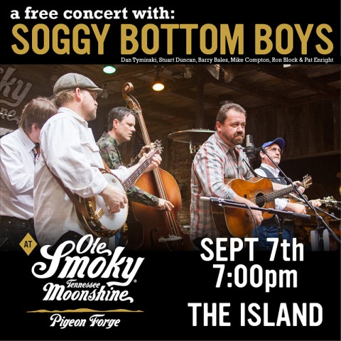 The Soggy Bottom Boys LIVE at The Island!