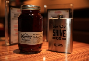 Ole Smoky® Tennessee Moonshine Teams Up With Outback Steakhouse®  For The Moonshine BBQ Menu
