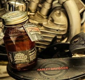 OLE SMOKY TENNESSEE MOONSHINE IS THE OFFICIAL MOONSHINE OF HARLEY-DAVIDSON