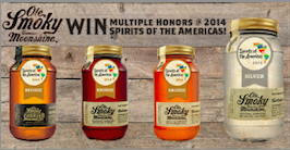 Ole Smoky Tennessee Moonshine Wins Big  In The 2014 Spirits of the Americas Competition!