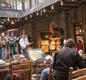 """Sample the South at Ole Smoky Moonshine Distillery"" - Visit South"