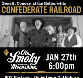 Free Benefit Concert with Confederate Railroad at the Holler