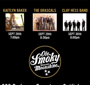 The Grascals, Clay Hess Band, and Kaitlyn Baker LIVE at the Holler