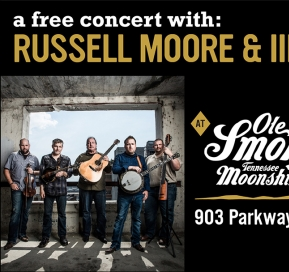 Russell Moore & IIIrd Tyme Out LIVE at the Holler