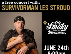 Survivorman Les Stroud LIVE at The Holler